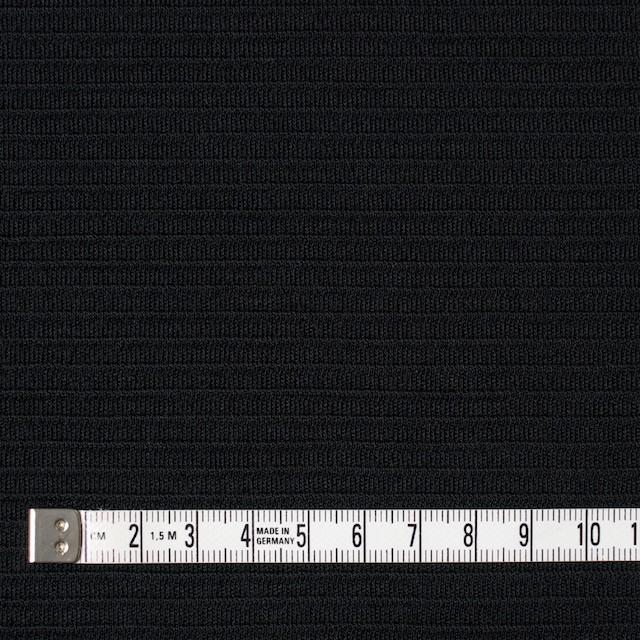 ウール×無地(ブラック)×Wニット イメージ4