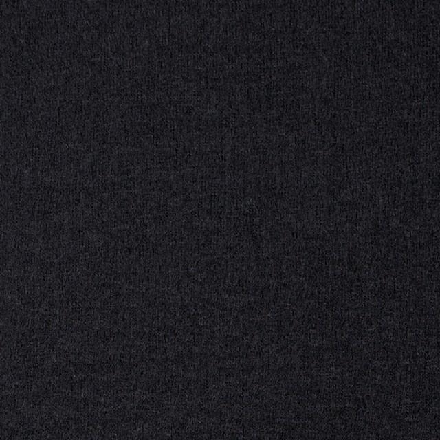 ウール×無地(ブラック)×圧縮天竺ニット イメージ1