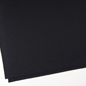 ウール×無地(ブラック)×圧縮天竺ニット サムネイル2