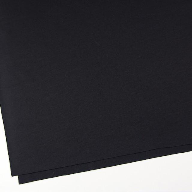 ウール×無地(ブラック)×圧縮天竺ニット イメージ2