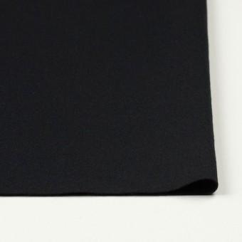 ウール×無地(ブラック)×圧縮天竺ニット サムネイル3