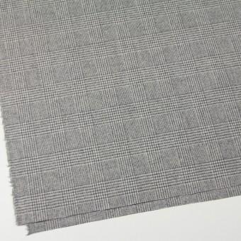 ウール&ナイロン混×グレンチェック(ライトグレー)×千鳥格子_全2色 サムネイル2