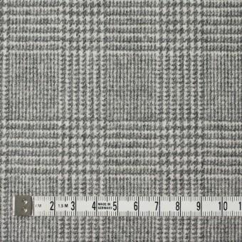 ウール&ナイロン混×グレンチェック(ライトグレー)×千鳥格子_全2色 サムネイル4