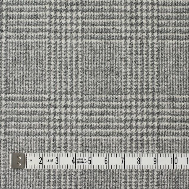 ウール&ナイロン混×グレンチェック(ライトグレー)×千鳥格子_全2色 イメージ4