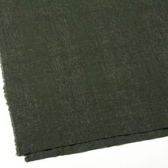 ウール×無地(ダークグリーン)×ツイードジャガード サムネイル2
