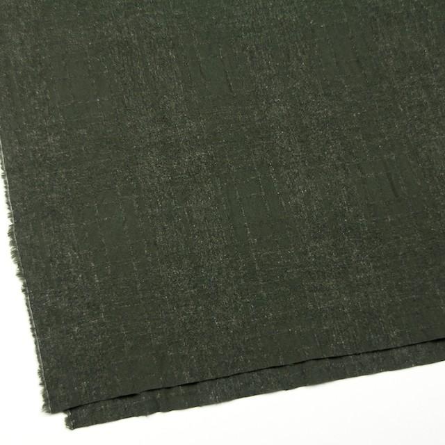 ウール×無地(ダークグリーン)×ツイードジャガード イメージ2