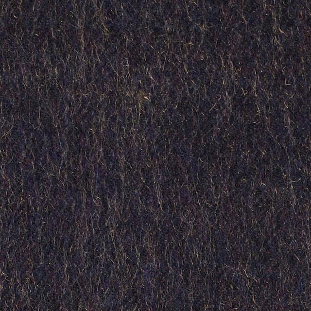 ウール&ナイロン×無地(パープル)×シャギー イメージ1