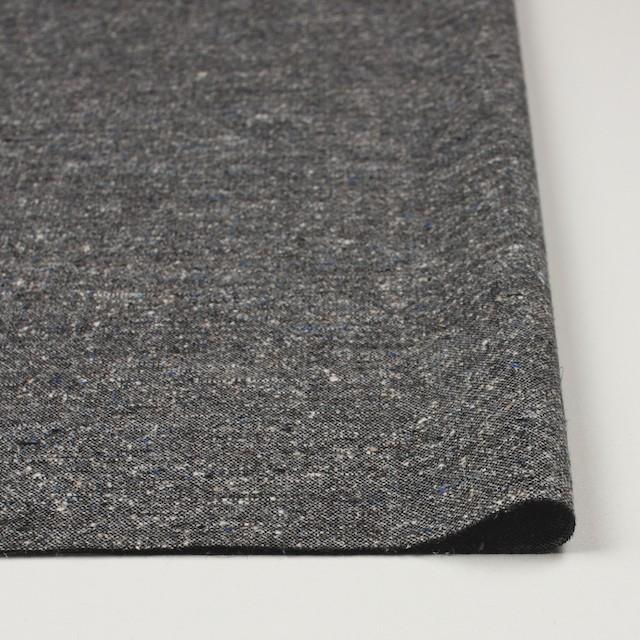 ウール&シルク×グレーミックス×ツイード_全2色 イメージ3