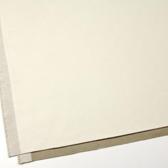 コットン&ポリウレタン×無地(オフホワイト&カーキベージュ)×モールスキンストレッチ サムネイル2