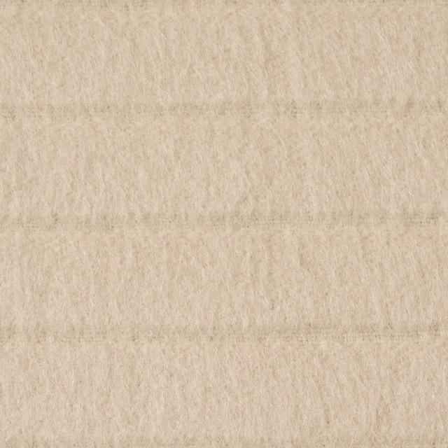 ウール×無地(アイボリー)×ビーバージャガード イメージ1