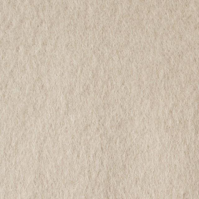 ウール×無地(アイボリー)×ビーバー イメージ1