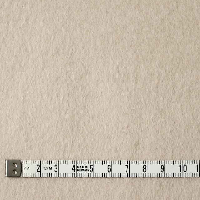 ウール×無地(アイボリー)×ビーバー イメージ4