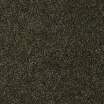 ウール&ポリエステル×無地(カーキグリーン)×圧縮ニット_イタリア製 サムネイル1