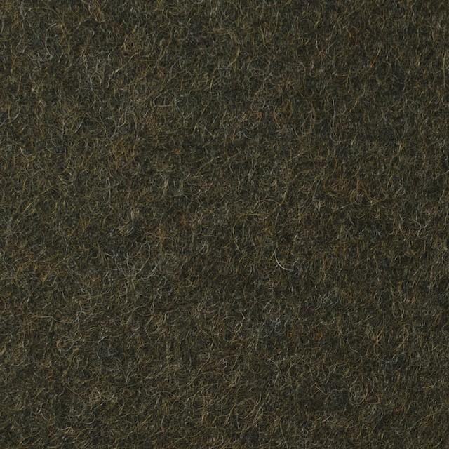 ウール&ポリエステル×無地(カーキグリーン)×圧縮ニット_イタリア製 イメージ1