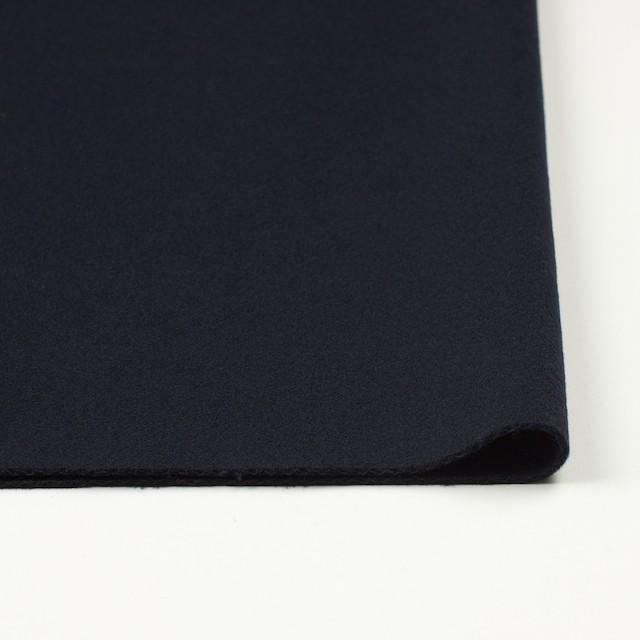 ウール×無地(ネイビー)×厚カルゼ イメージ3