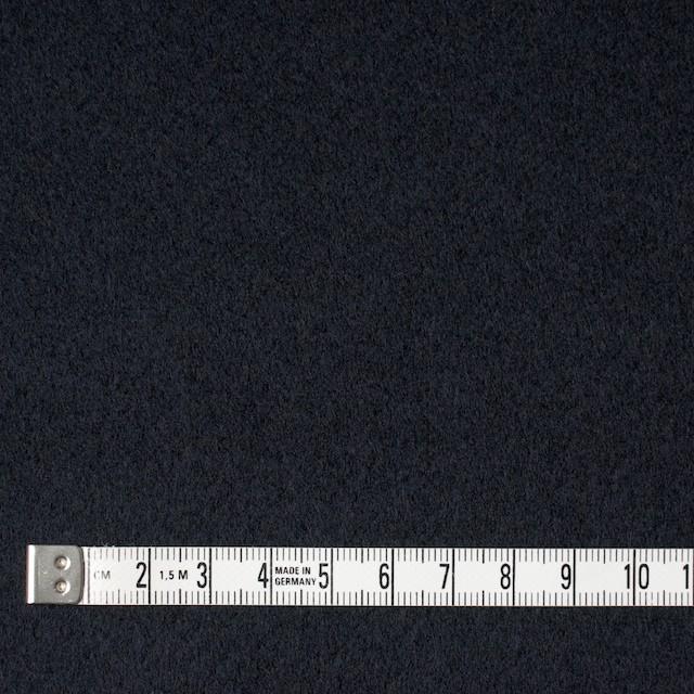 ウール×無地(ネイビー)×厚カルゼ イメージ4