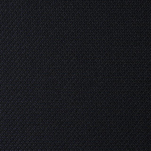 ウール×無地(ダークネイビー)×シャンブレーサージ イメージ1