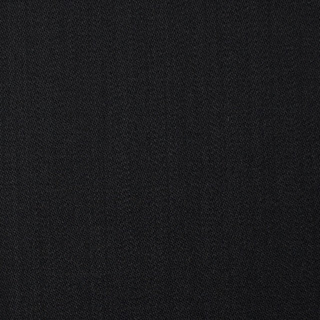 ウール×無地(ブラック)×ドスキン イメージ1