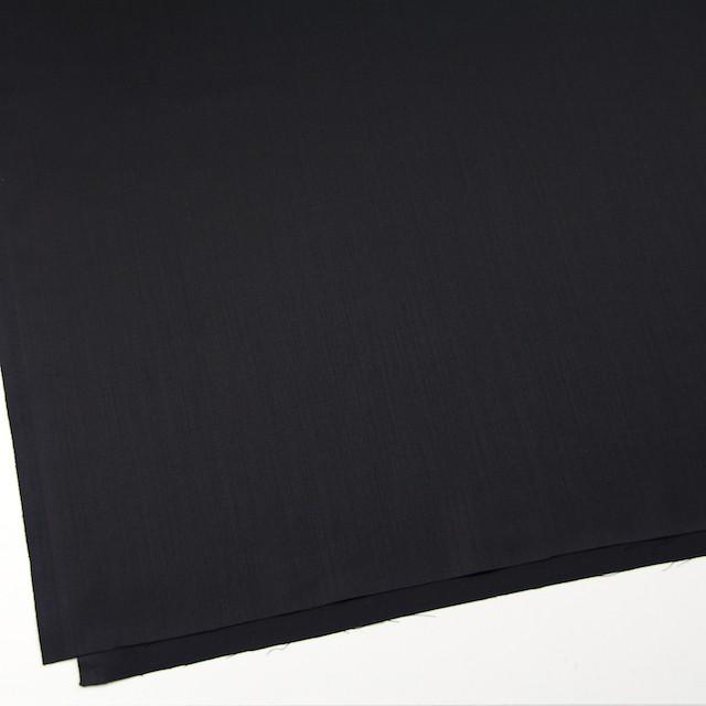 ウール×無地(ブラック)×ドスキン イメージ2