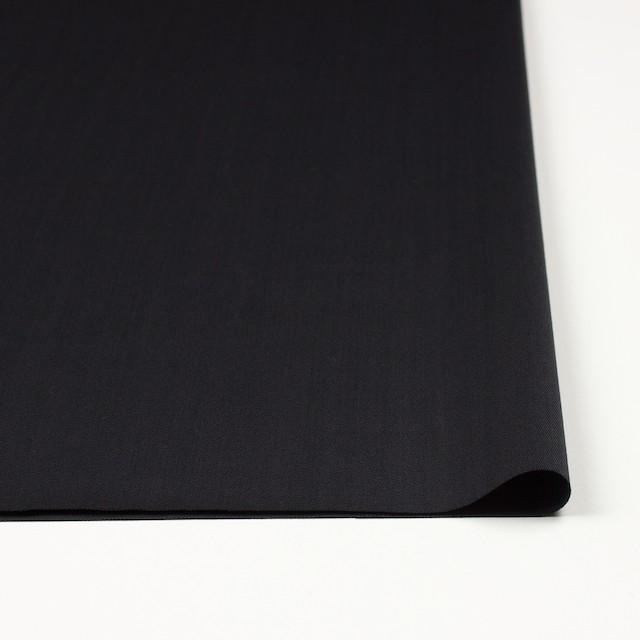 ウール×無地(ブラック)×ドスキン イメージ3