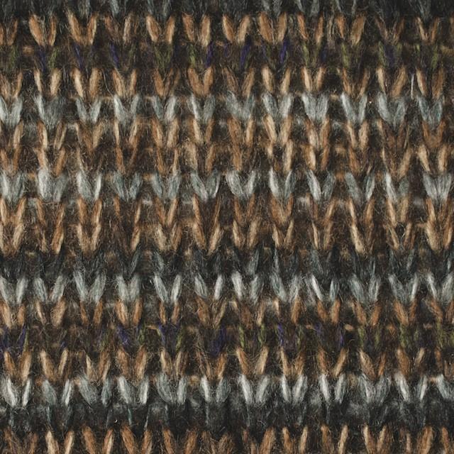アクリル×ボーダー(マルチ)×厚天竺ニット イメージ1