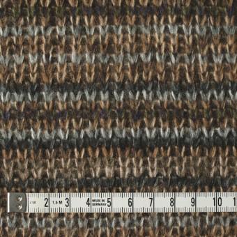 アクリル×ボーダー(マルチ)×厚天竺ニット サムネイル4