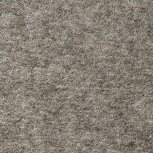 アクリル&ウール×無地(グレイッシュベージュ)×ループニット_全3色 イメージ1