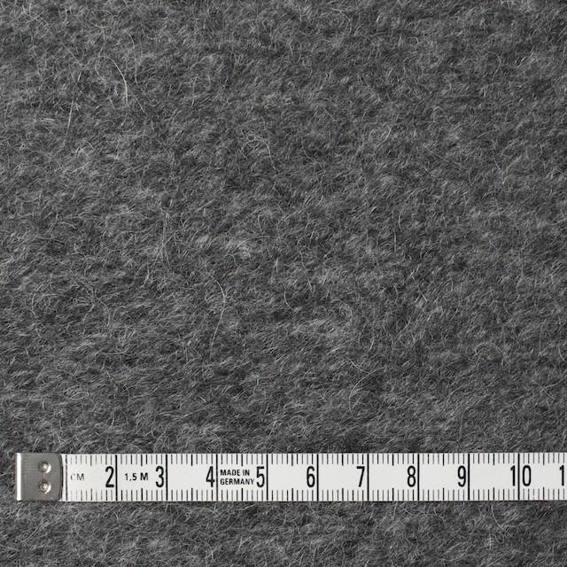 アクリル&ウール×無地(グレー)×ループニット_全3色 イメージ4