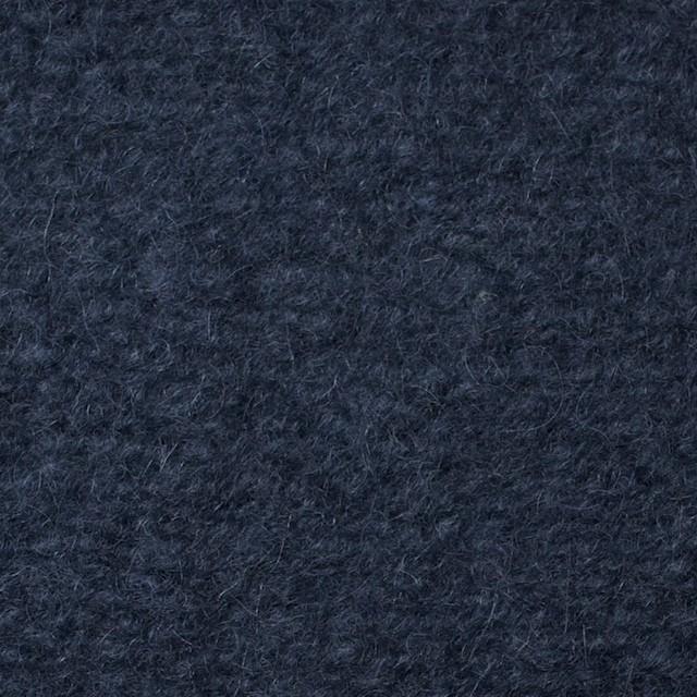 アクリル&ウール×無地(アイアンブルー)×ループニット_全3色 イメージ1