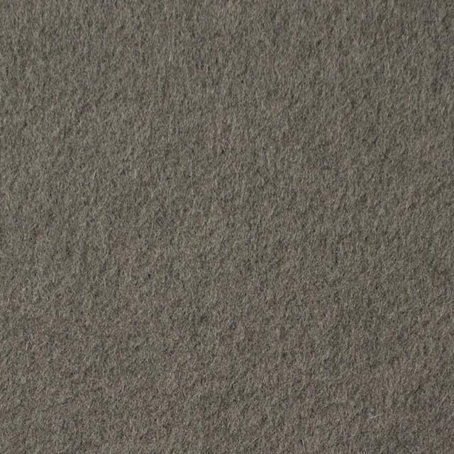 ウール×無地(グレー&ブラック)×フリースニット イメージ1