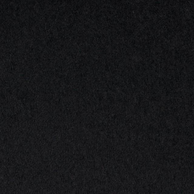 アンゴラ&ウール×無地(ブラック)×サージ イメージ1