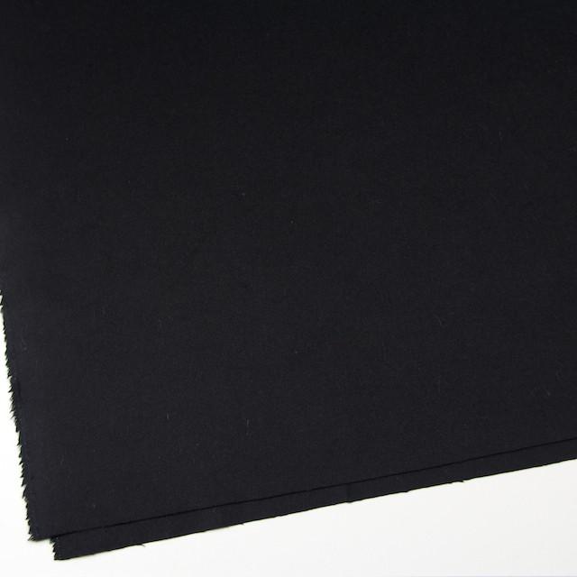 アンゴラ&ウール×無地(ブラック)×サージ イメージ2
