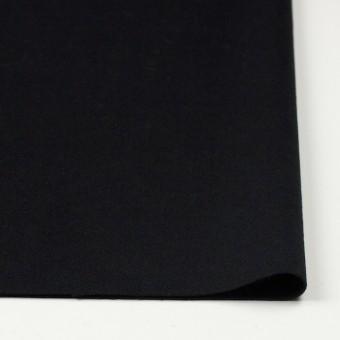 アンゴラ&ウール×無地(ブラック)×サージ サムネイル3