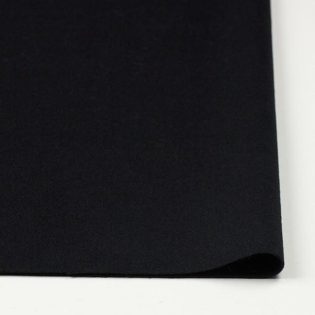 アンゴラ&ウール×無地(ブラック)×サージ イメージ3