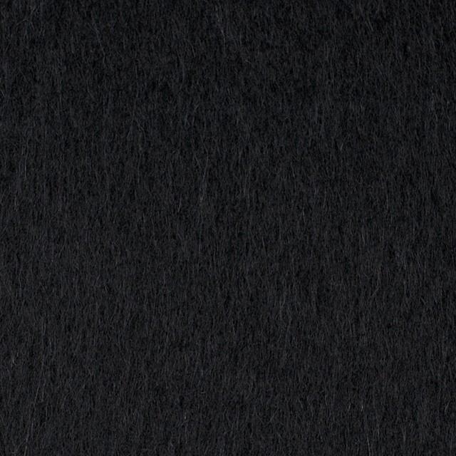 ウール×無地(ブラック)×ビーバー イメージ1