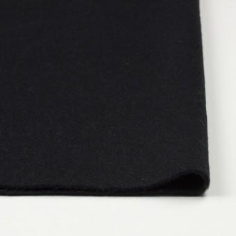 ウール×無地(ブラック)×ビーバー サムネイル3