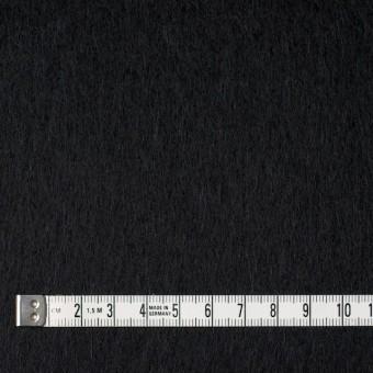 ウール×無地(ブラック)×ビーバー サムネイル4