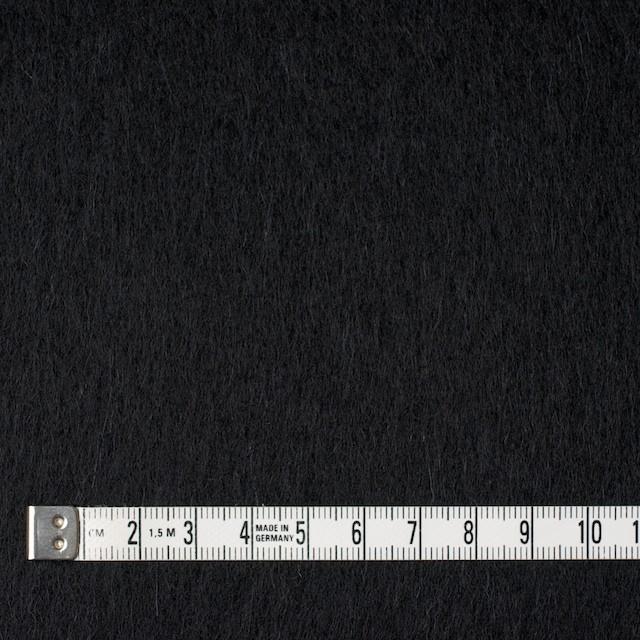 ウール×無地(ブラック)×ビーバー イメージ4