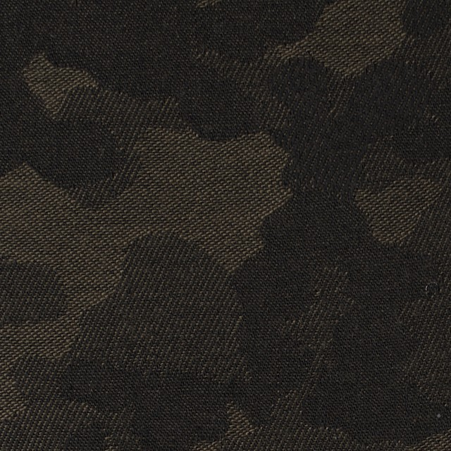 コットン×迷彩(カーキブラウン)×ジャガード_全2色 イメージ1