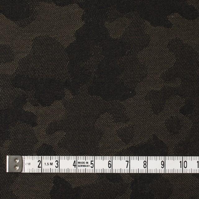 コットン×迷彩(カーキブラウン)×ジャガード_全2色 イメージ4