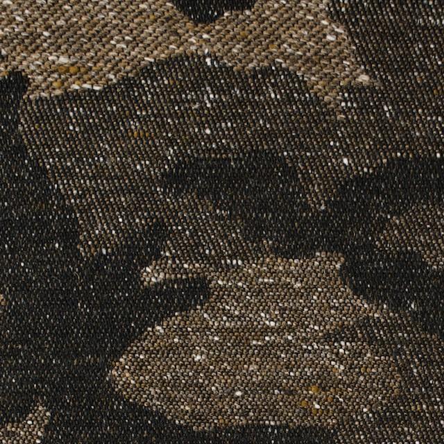 コットン&アクリル混×迷彩(モカブラウン)×ジャガード_全5色 イメージ1