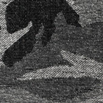 コットン&アクリル混×迷彩(ライトグレー)×ジャガード_全5色 サムネイル1