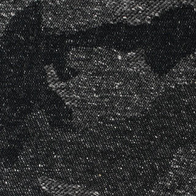 コットン&アクリル混×迷彩(チャコールグレー)×ジャガード_全5色 イメージ1
