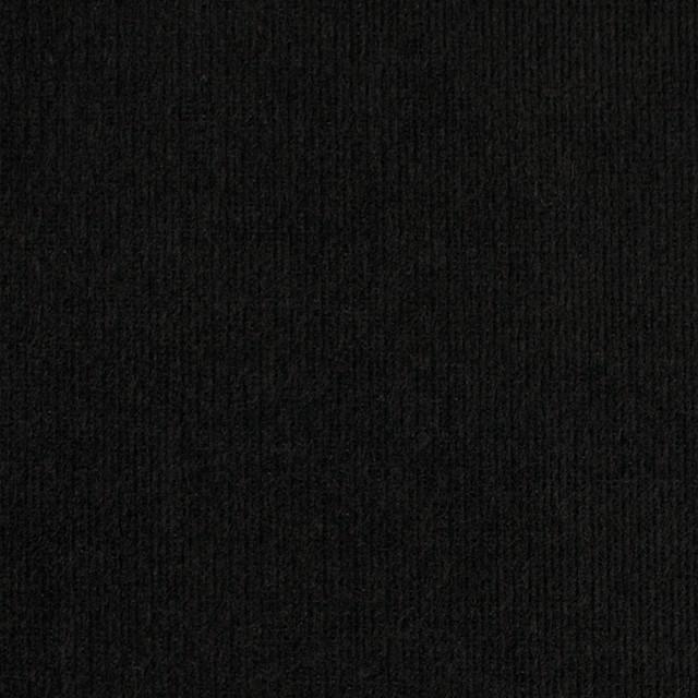 コットン&ポリエステル×無地(ブラック)×ベッチン_全5色 イメージ1