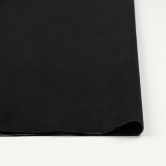 コットン&ポリエステル×無地(ブラック)×ベッチン_全5色 サムネイル3