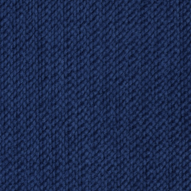 コットン×無地(インディゴブルー)×模様ベッチン イメージ1