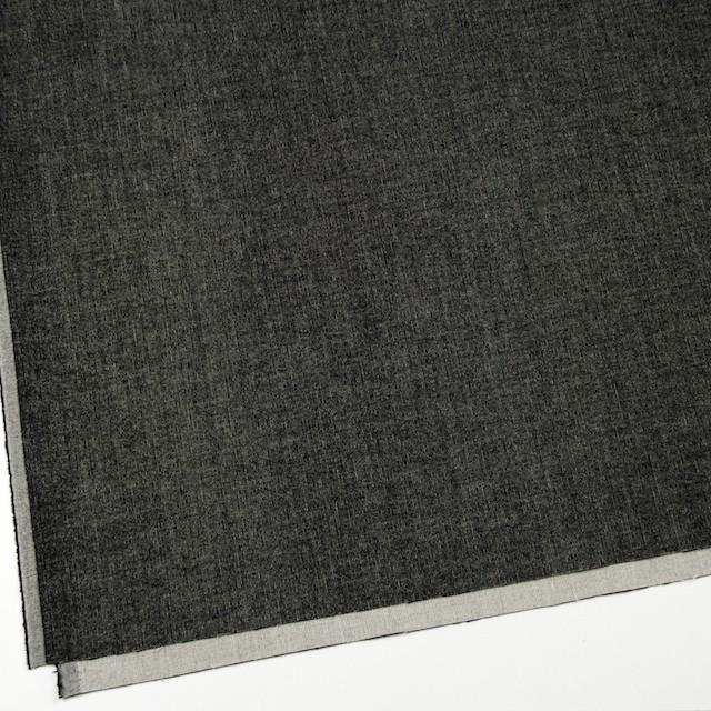 コットン&ポリウレタン×無地(ブラック)×極細コーデュロイ・ストレッチ_全2色 イメージ2