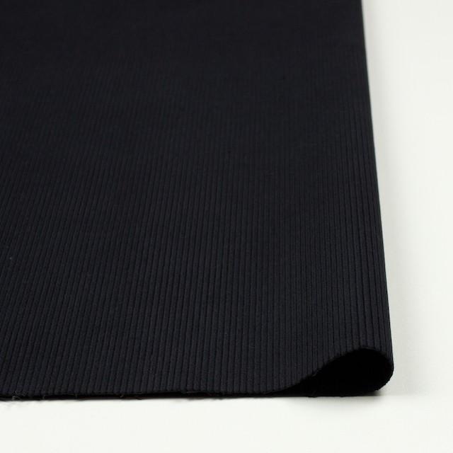 コットン&ポリウレタン×無地(ブラック)×中細コーデュロイ・ストレッチ_全2色 イメージ3