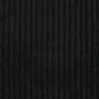 コットン&カシミア×無地(ブラック)×太コーデュロイ_全4色 サムネイル1