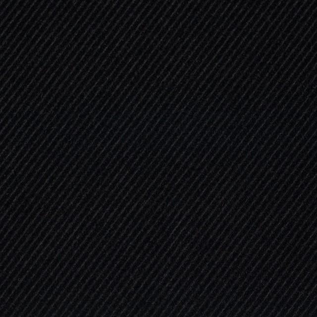 ポリエステル&コットン×無地(ブラック)×バイアスコーデュロイ イメージ1